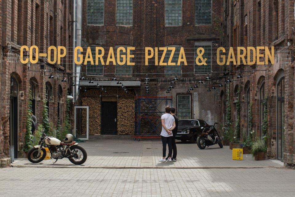 Co-op Garage наГороховой улице . Изображение № 1.