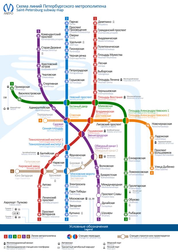 Новая схема метро. Изображение № 1.