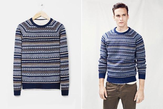 Мужские новогодние свитеры: 9вариантов от 1500 до16тысячрублей. Изображение № 6.