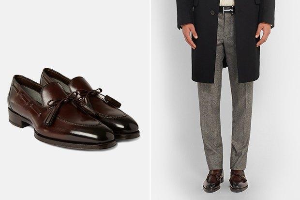 21 пара мужской обуви наосень. Изображение № 9.