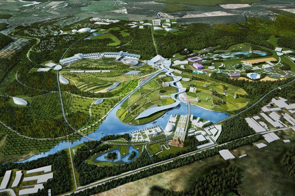 Проект подмосковного парка «Россия». Изображение № 18.