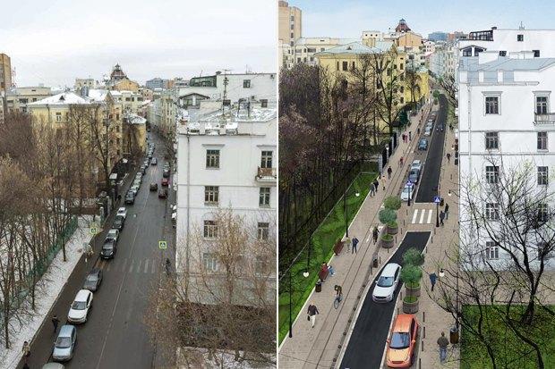 «Городские проекты» разработали проект реконструкции Малой Бронной улицы. Изображение № 2.