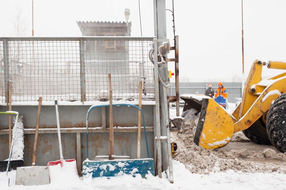 Летел и таял: Как в Москве плавят снег. Изображение № 7.