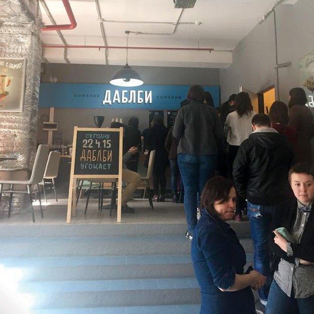 На «Даниловской мануфактуре» открылась кофейня DoubleB. Изображение № 1.