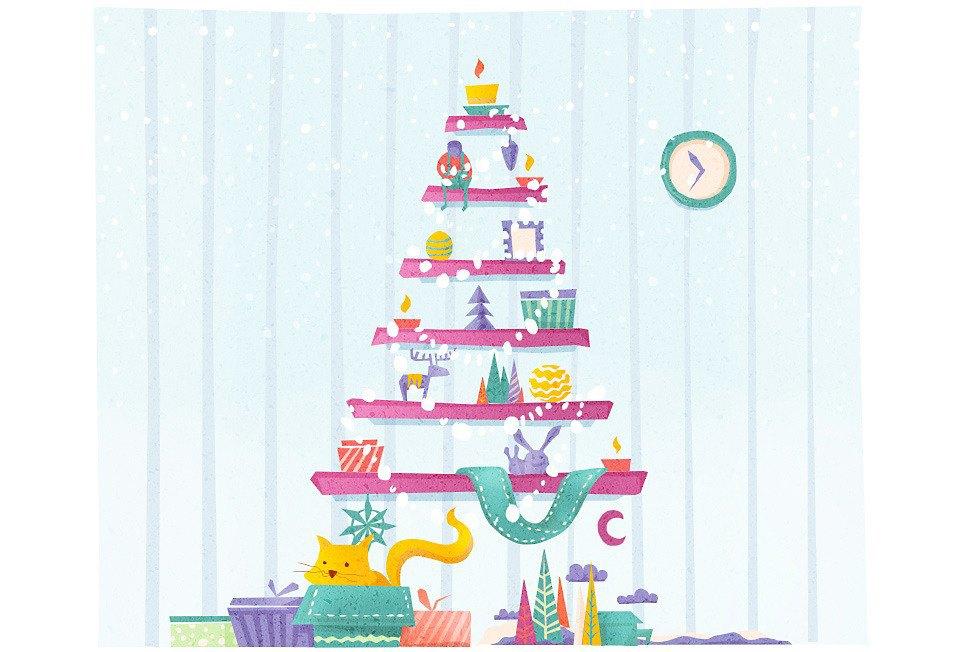 Домпросвет: Как украсить квартиру к Новому году. Изображение № 7.