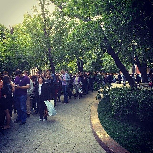 «Ночь вмузее» вМоскве вснимках Instagram. Изображение № 1.