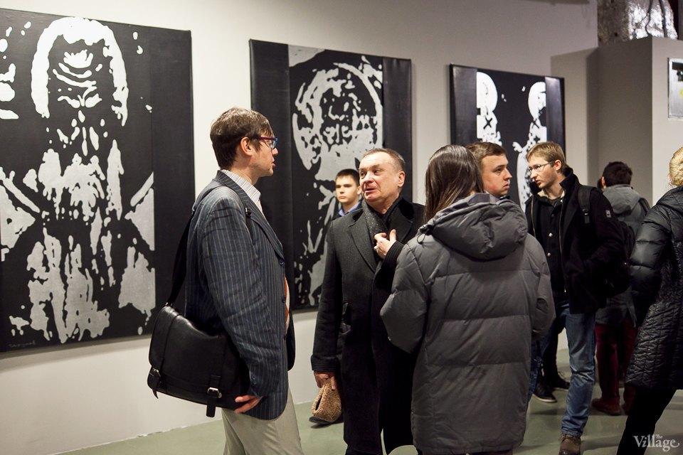 Люди в городе: Первые посетители выставки Icons в Петербурге. Изображение № 18.