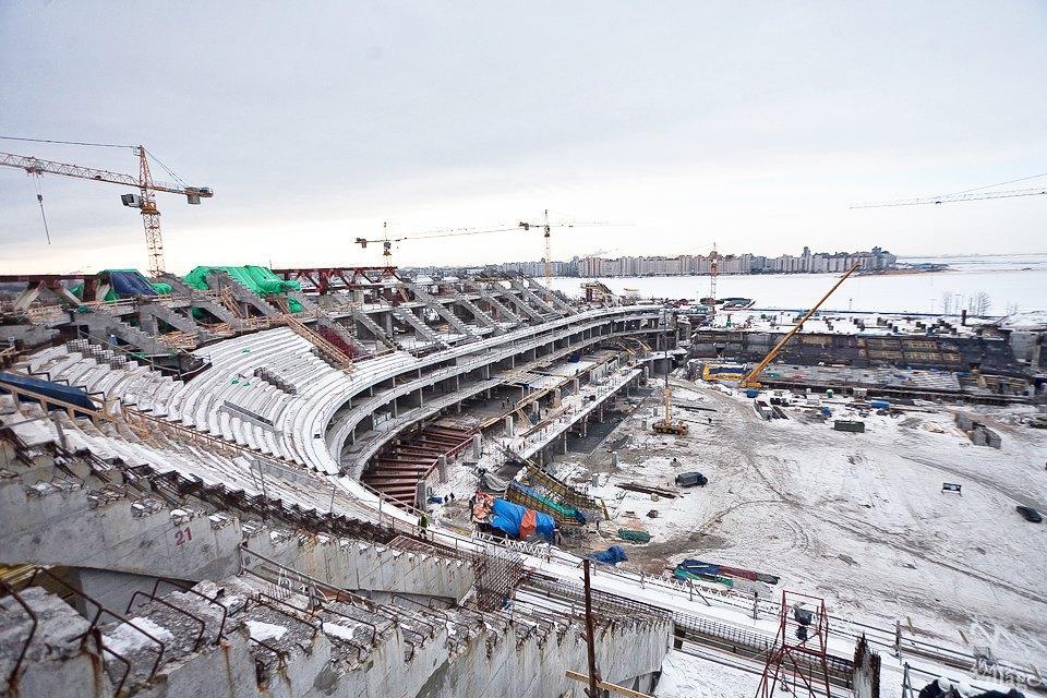 Фоторепортаж: Стадион «Зенит-Арена» изнутри. Изображение № 4.