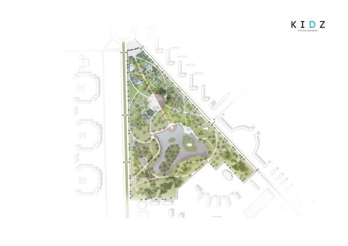 Коллектив Kidz разработает дизайн-концепцию для парка Городов-Героев. Изображение № 5.