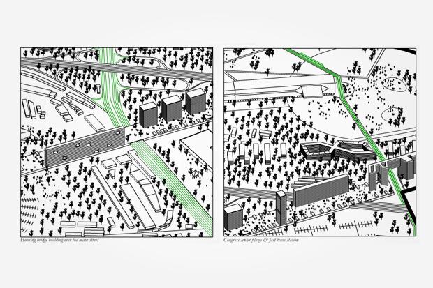 Расположение «Медленного города». Изображение № 20.
