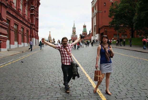 Итоги сезона: Туристы вМоскве. Изображение № 7.