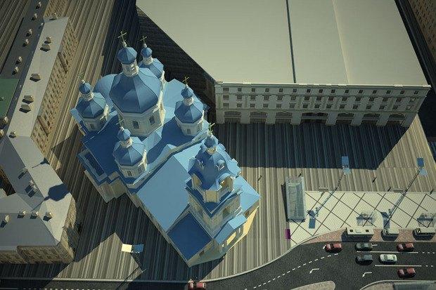 Смольный утвердил проект реконструкции Сенной площади. Изображение № 5.