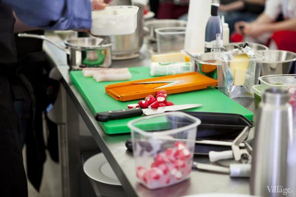 Omnivore Food Festival: Илья Шалев и Алексей Зимин готовят три блюда из редиса и черемши . Изображение № 7.
