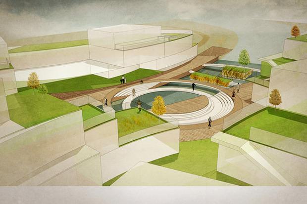 Для Петербурга разработали проекты эко отеля, банка и досугового центра. Изображение № 12.