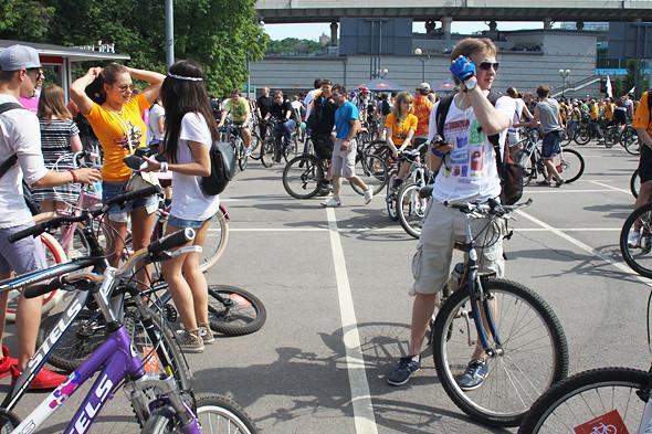 Велопарад Let's bike it!: Чего не хватает велосипедистам в городе. Изображение № 11.