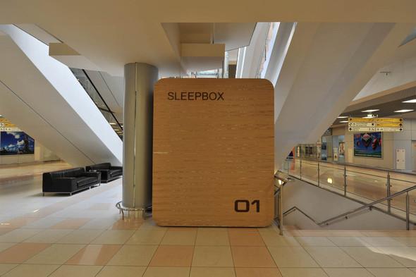 В Шереметьеве установят «коробки для сна». Изображение № 8.