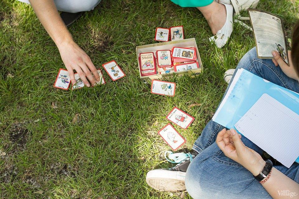Люди в городе: Играющие в парках. Изображение № 22.