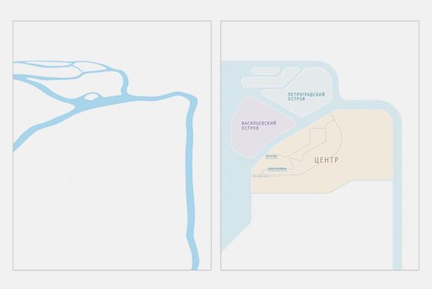 Как выглядит схема петербургского метро от Студии Лебедева. Изображение № 2.