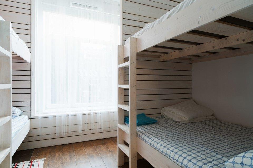 Хостел на«Белорусской» сномерами-каютами идвухэтажной двуспальной кроватью. Изображение № 14.