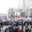Два санкционированных митинга в Петербурге собрали 2 500 человек. Изображение № 20.