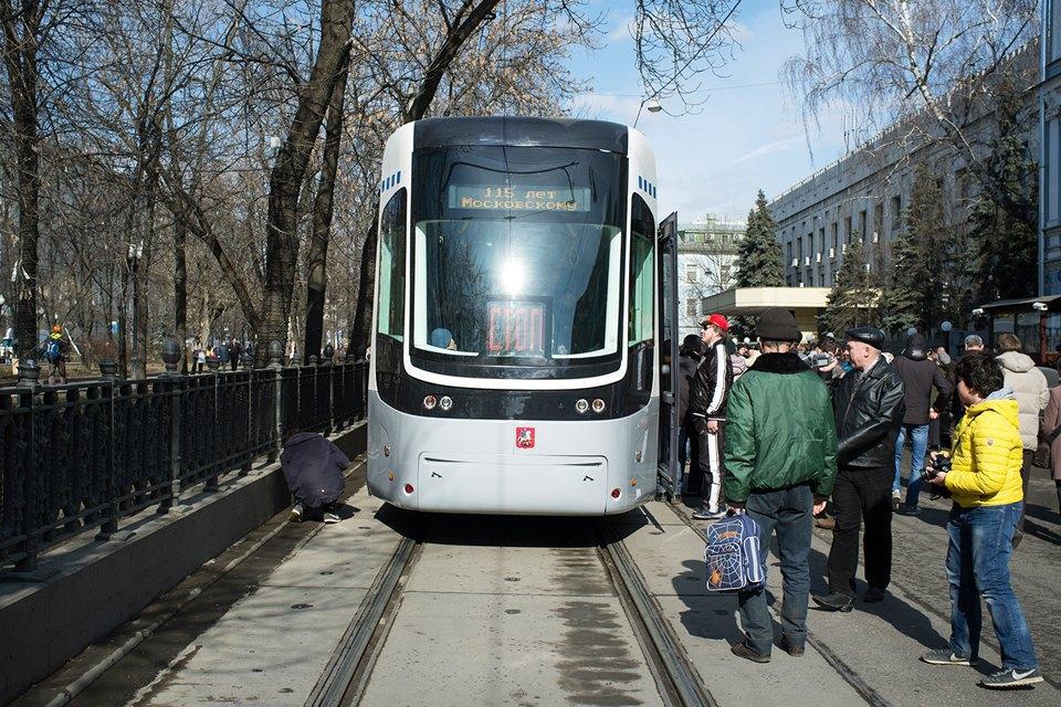 Парад трамваев наЧистыхпрудах. Изображение № 3.