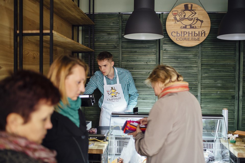 Переломный момент: Какбывший программист открыл первую вМоскве сырную лавку. Изображение № 3.