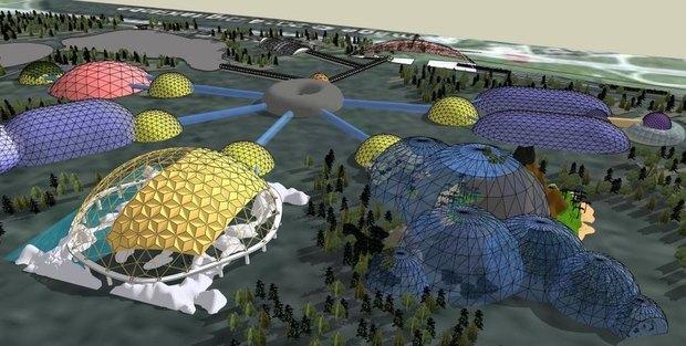 Комитет по инвестициям представил концепцию нового зоопарка. Изображение № 1.