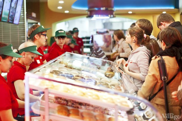 Саша Боярская опончиковой Krispy Kreme. Изображение № 5.