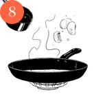 Рецепты шефов: Куриная грудка сперлотто и грибным соусом. Изображение № 10.