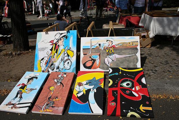 Блошиный рынок в Берлине. Фотография — Andrea Meyer. Изображение № 6.