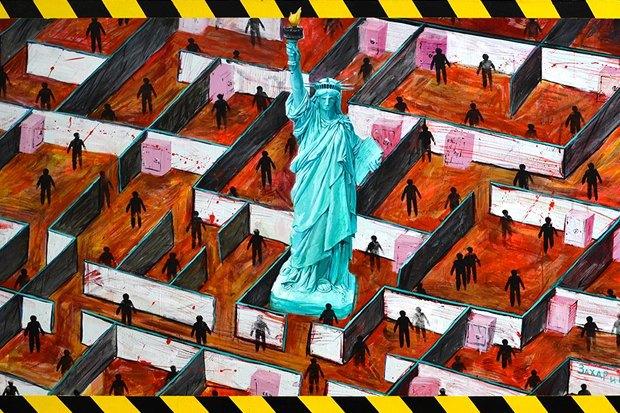 Уличный художник Павел Шугуров: «Быть чиновником — это прикольно». Изображение № 17.