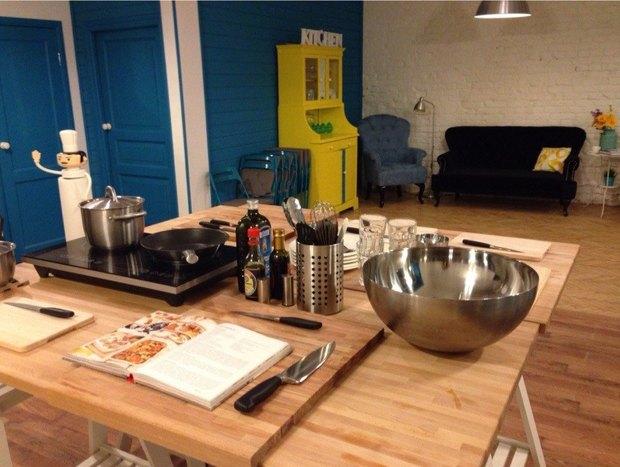 В «Третьем кластере» заработала фестивальная кухня. Изображение № 2.