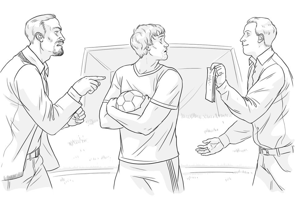 Футбольный агент. Изображение № 2.