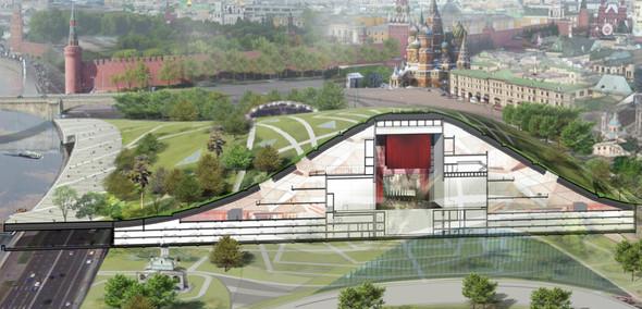 Москомархитектура выбрала 118 проектов парка в Зарядье. Изображение № 34.
