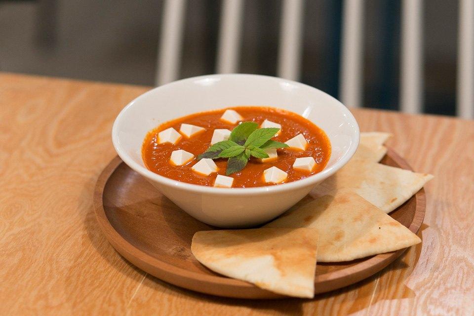 Томатый суп с тофу — 200 рублей. Изображение № 6.