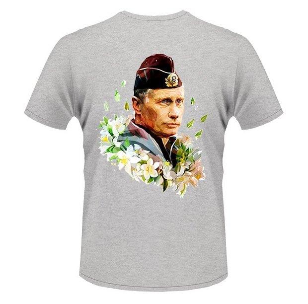 Во Внукове установили автомат по продаже футболок с изображением Путина. Изображение № 1.