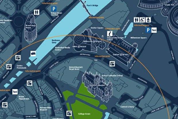 Проект Bristol Legible City Бристоль, 2001–2007, City ID. Изображение № 9.