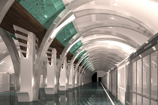 Боковой зал «Морского фасада». Изображение № 5.