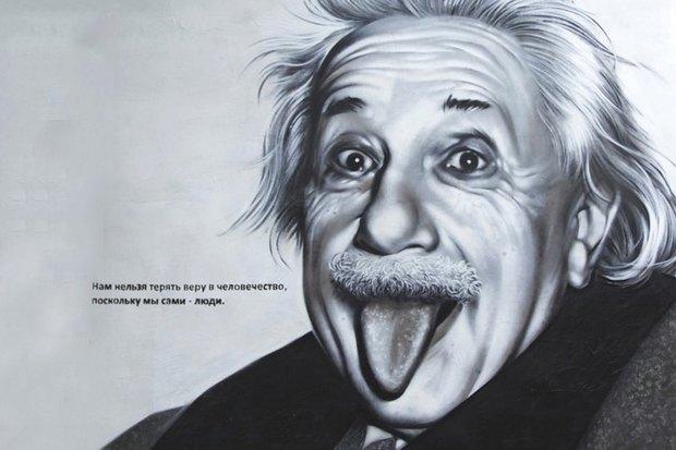 Авторы портретов Цоя иЭйнштейна— об идее легализовать граффити вПетербурге. Изображение № 3.