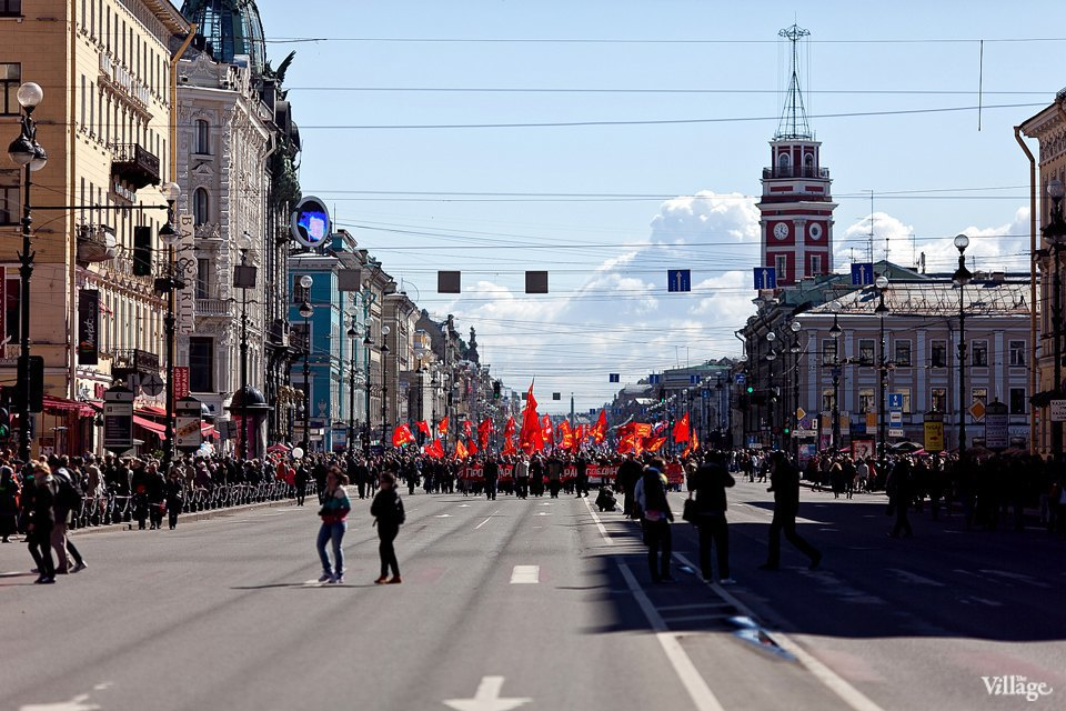 Фоторепортаж: Первомайская демонстрация. Изображение № 7.