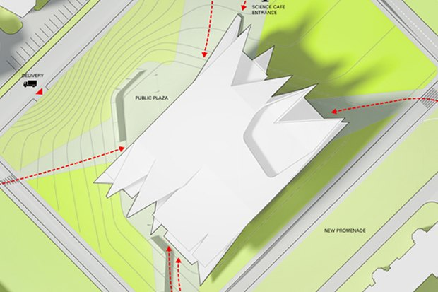Представлены шесть проектов нового здания Политехнического музея. Изображение № 31.