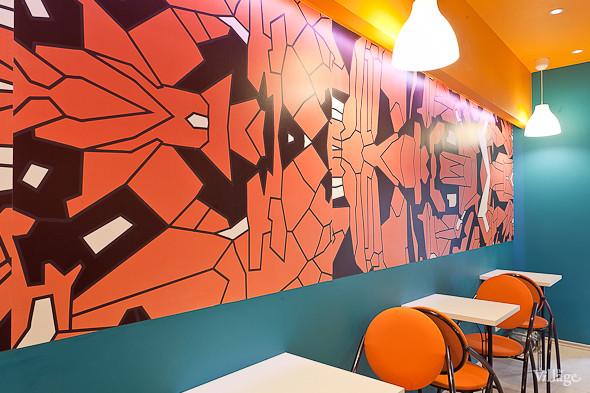 Новое место (Петербург): Вок-кафе Mr. Chan. Изображение № 3.