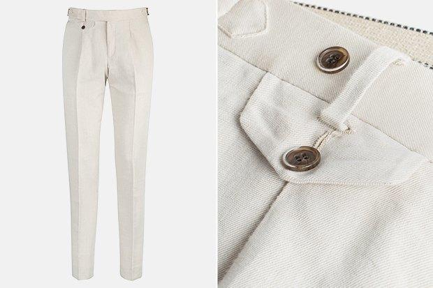7 пар светлых мужских брюк. Изображение № 4.