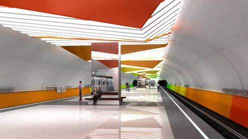 В Жулебине откроют две станции метро в 2013 году. Изображение № 3.