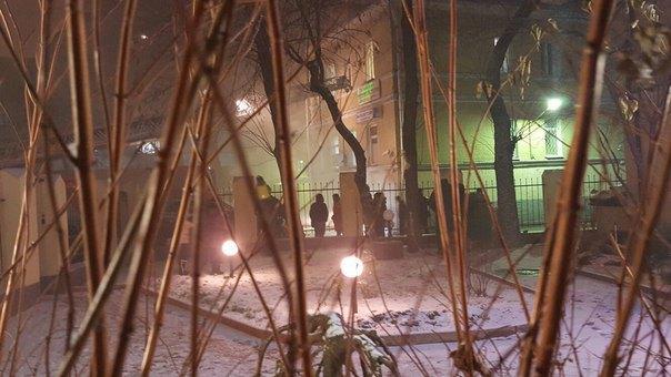 В Москве горит Таганский суд. Изображение № 1.