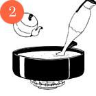 Рецепты шефов: Мороженое счаем матча, с малиной исмоцареллой и базиликом. Изображение № 17.