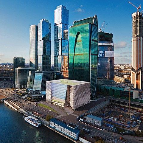 В «Москва-Сити» появится здание по проекту UNK project. Изображение № 1.