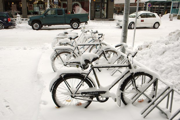 Консультант мэрии финского Оулу — о зимнем велодвижении. Изображение № 8.