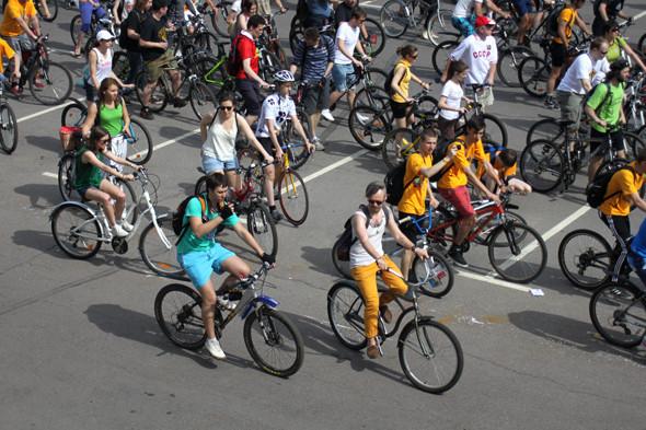 Велопарад Let's bike it!: Чего не хватает велосипедистам в городе. Изображение № 20.