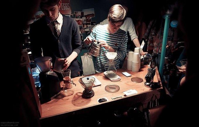 На Фурштатской открылась кофе-станция Impress  . Изображение № 2.